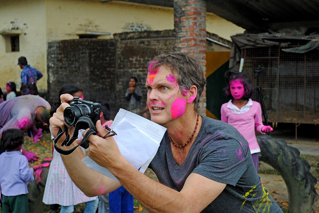 john-volunteering-in-india