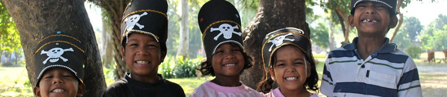 Possibly the cutest pirates in the world...