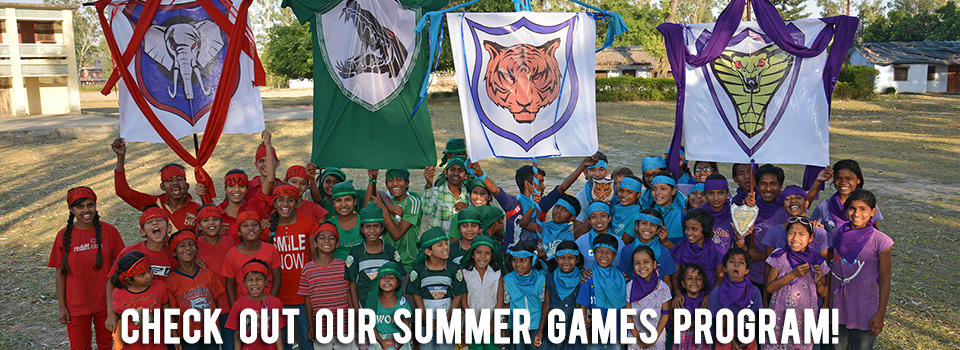 Take a look at our orphanages Summer Games 2014 Program!
