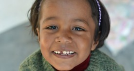 Shivani, one of our twins!