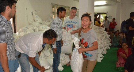 Mission Nepal: Distribution