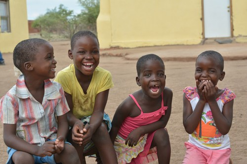 Just a few of the kids at the House of Hope, Africa in Hunga, Zimbabwe.
