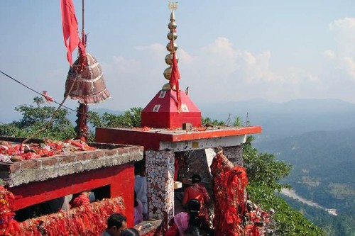 The temple around which Raju's life revolved