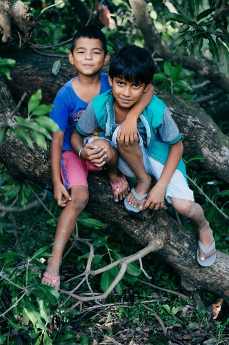 Orphan-Boys-in-Tree