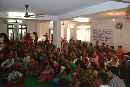 Representatives from 200 desperate familes