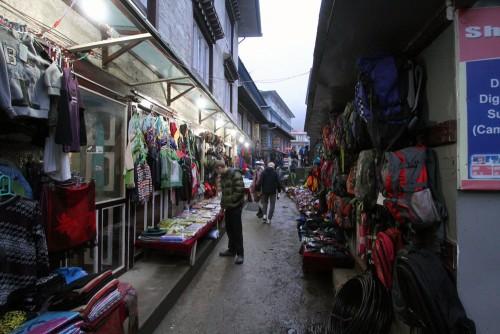 Me in Namchee Bazaar.