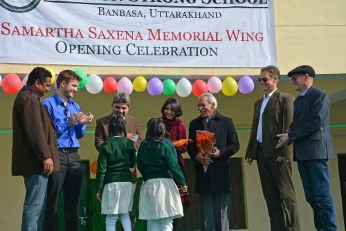 Eugene George, Clifton Shipay, Manjul Saxena, Alka Saxena, Naresh Chandra Saxena, John Marshall and Rick Shipway.